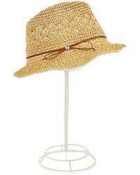 Ivanka Trump - Tie Accented Bucket Hat - Lyst