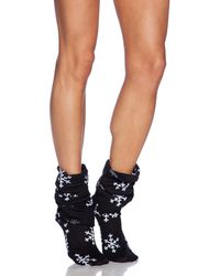 Wildfox Black Fox Sox - Lyst
