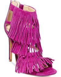 Steve Madden Women'S Fringly Dress Sandals - Lyst