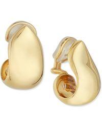 Tamara Comolli - 18k Yellow Gold Xl Clip-on Earrings - Lyst