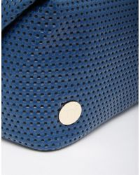 Mi-Pac | Perforated Navy Makeup Bag | Lyst
