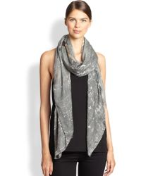 Yigal Azrouel Rainy Day Modal Cashmere Scarf - Lyst