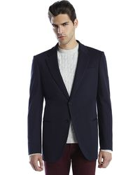Armani Navy Two-button Sport Coat - Lyst