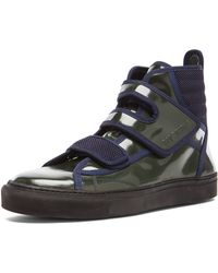 Raf Simons Mens High Top Sneaker - Lyst