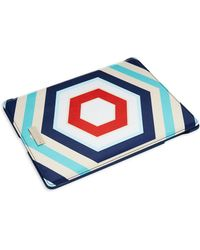 Kate Spade Hexagon Patterned Ipad Folio Case - Lyst