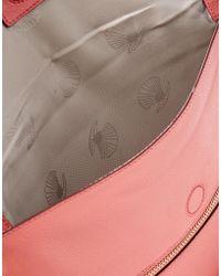 Modalu - Leather Clutch Bag - Lyst