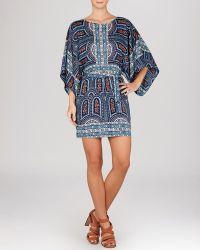 BCBGMAXAZRIA Dress - Bryna Kimono Sleeve Printed - Lyst