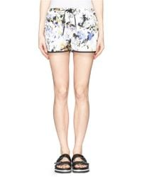 Elizabeth And James 'Keyla' Floral Print Running Shorts multicolor - Lyst