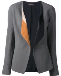 Narciso Rodriguez Open Front Jacket - Lyst