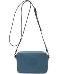 Mulberry Blossom Pochette With Strap blue - Lyst