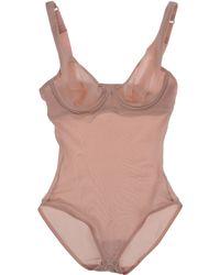 Wolford Bodysuit pink - Lyst