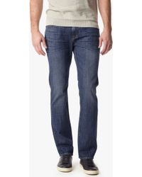 7 For All Mankind Vintage 7 Collection: Standard Classic Straight With Clean Pocket - Lyst