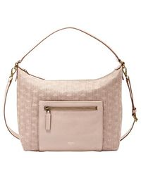 Fossil 'Vickery' Woven Shoulder Bag - Lyst