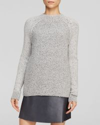 Vince Sweater Seed Stitch Crew - Lyst