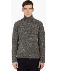 Our Legacy | Grey Alpaca Wool Turtleneck Sweater | Lyst