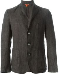 Barena Prince Of Wales Check Blazer - Lyst