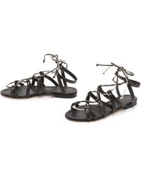 Visconti & Du Réau - Taormina Gladiator Sandals - Dark - Lyst