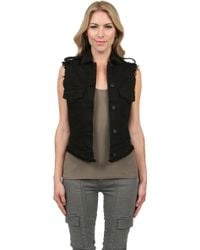 James Jeans Vega Low High Vest - Lyst