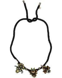 Matthew Williamson Necklace green - Lyst