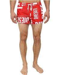 Diesel Reef-30-S Shorts Cahl red - Lyst
