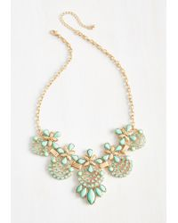 Ana Accessories Inc - Hit The Town Stunning Necklace In Mint - Lyst