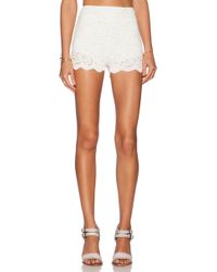 Free People Floral Lace Biker Short - Lyst