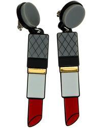 Yazbukey - Lipstick Earring - Lyst