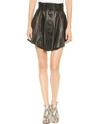 A.L.C. Jay Skirt Black - Lyst
