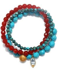 Satya Jewelry - Beaded Bracelets - Lyst