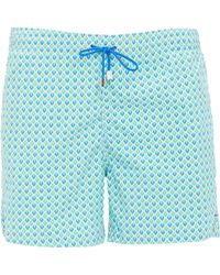 Roda Turchese Swim Shorts - Lyst