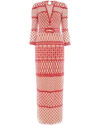 Temperley London Long Fishnet Dress - Lyst