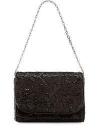 Eric Javits Jaz Sequin Shoulder Bag - Lyst