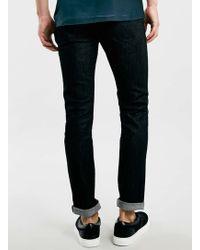 LAC - Bk Raw Denim Stretch Skinny Jeans - Lyst