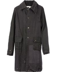 Greg Lauren Distressed Patchwork Coat - Lyst