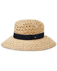 Tory Burch - Woven Straw Capeline Hat - Lyst