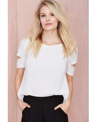 Nasty Gal With The Band Tee - Lyst