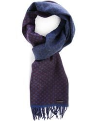 Ted Baker | Burgundy Dots Scarf | Lyst