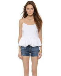 Ace Nora Poplin Bubble Tank