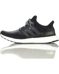 Adidas | Ultra Boost In Core Black | Lyst