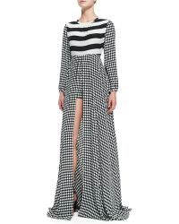 Sass & Bide Perfect Storm Long-sleeve Maxi Dress - Lyst