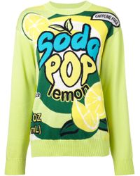 Moschino Soda Pop Sweater - Lyst