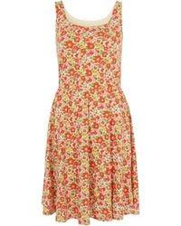 Uniqlo - Betsy Red Printed Bra Dress - Lyst