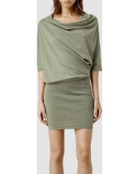 AllSaints Tilda Jumper Dress - Lyst