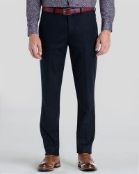 Ted Baker Foretro Wool Flannel Trousers - Lyst