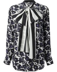 Mother Of Pearl Hanum Bow Shirt - Lyst