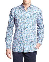 Polo Ralph Lauren Floral-Print Bleecker Sportshirt - Lyst