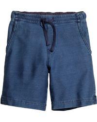 H&M Twill Shorts blue - Lyst