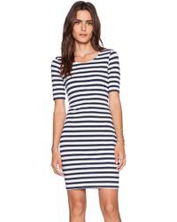 Splendid T Shirt Stripe Dress - Lyst