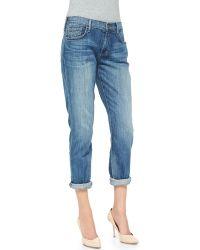 True Religion Audrey Mid-rise Boyfriend Jeans - Lyst