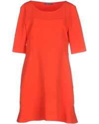 Alberta Ferretti | Short Dress | Lyst